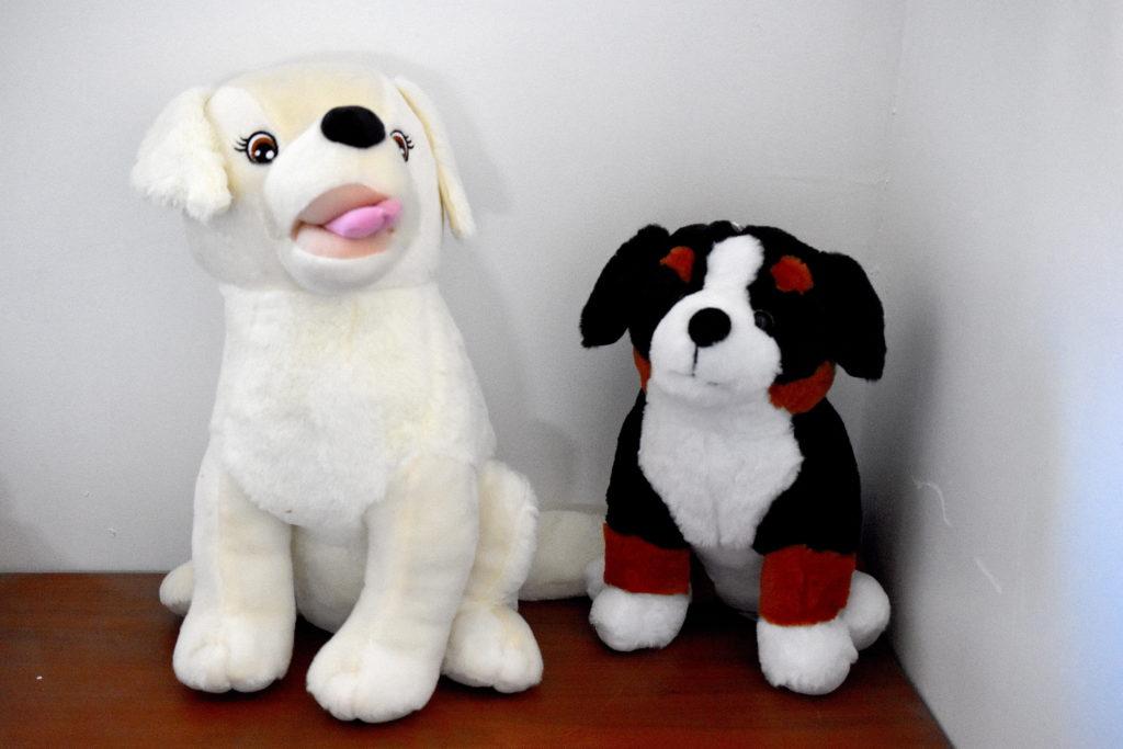Peluches chiens