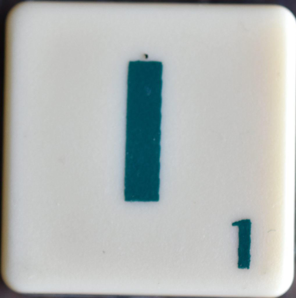 Lettre I Scrabble