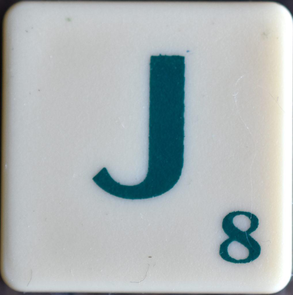 Lettre J Scrabble