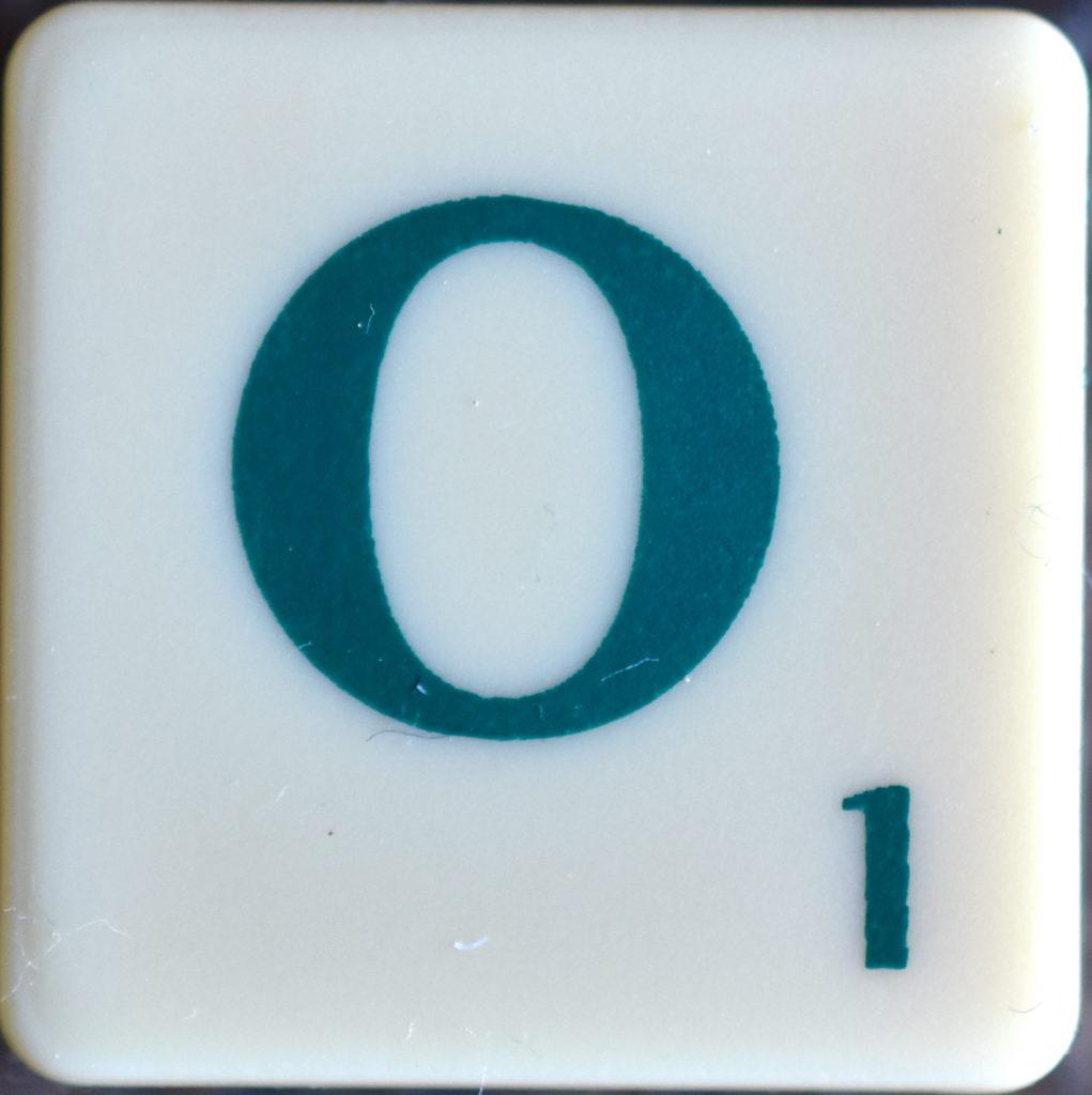 Lettre O Scrabble