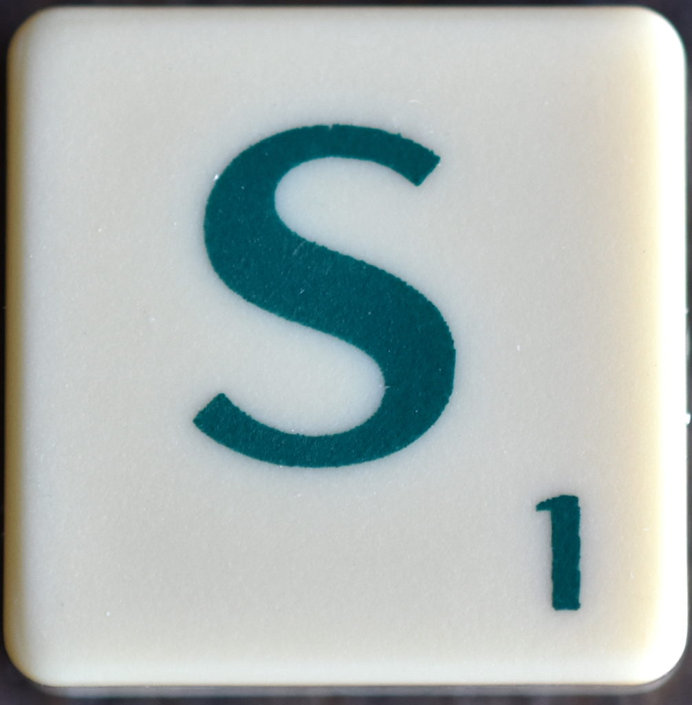 Lettre S Scrabble